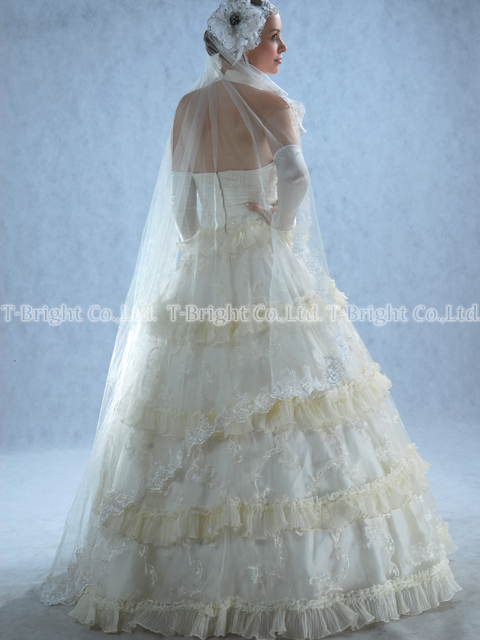 Custom wedding dress ★ Princess ★ tb068