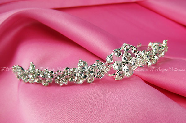 Tiara wedding Bridal Accessories hair accessories / headband wedding bride rhinestone Crown hair ornament (t-0505)