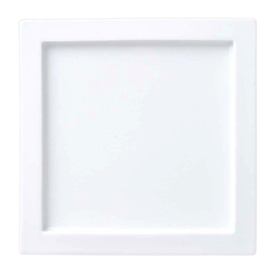(グランス)31cmスクエアプレート高品質 ホテル食器 白い食器 高級