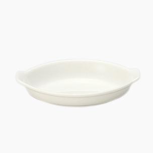 入荷次第発送 高級感あふれるニューボーンの器 送料無料新品 BON 店 CUISINE 19cm舟型オーブンパン ニューボーン ホテル食器 高品質 白い食器 高級