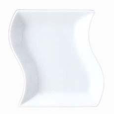 入荷次第発送 組み合わせ色々なウェーブシリーズ トルチェーレ 16.5cm長角皿 日本製 白い食器 高品質 高級 ホテル食器 超人気 専門店