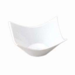 在庫あり 人気の定番 入荷次第発送 バリエーション豊かなモノトーンシリーズ TROMBA シャープスクエア 13.5cmボー 12cmボール ピュアホワイト 高品質 白い食器 高級 ホテル食器