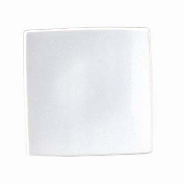 入荷次第発送 バリエーション豊かなモノトーンシリーズ TROMBA 15.5cm スクエアプレート 限定品 高品質 即納最大半額 ピュアホワイト ホテル食器 白い食器 高級