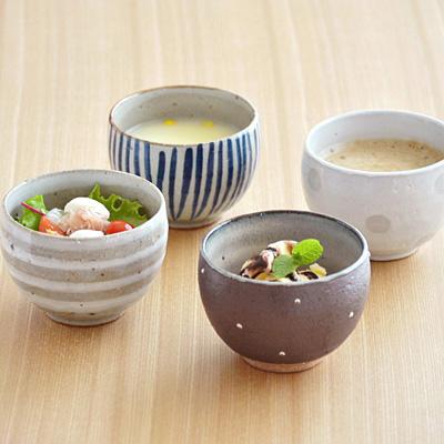 和食器 手造り 土物のゆったり碗