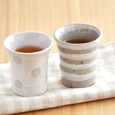 手造り 土物のミニカップ