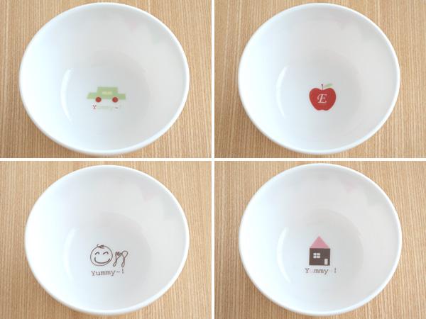 E-Kids ガーランド 小さめお茶碗茶碗/お茶碗/ちゃわん/飯碗/子供食器/子供用食器/子ども用ご飯茶碗/子供茶碗/子供 用/すくいやすい/キッズ用/ベビー食器/おしゃれ/かわいい/北欧