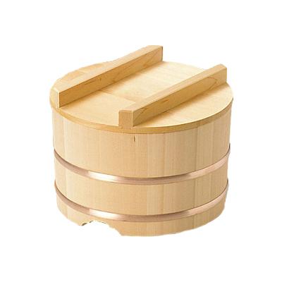 椹 のせびつ 直径21cm      日本製/木/木製/ご飯/おひつ/業務用