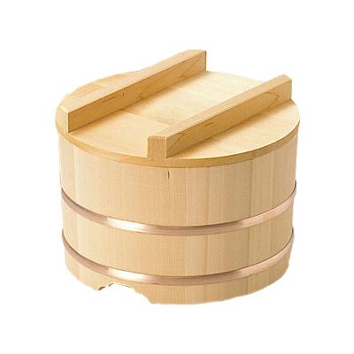 椹 のせびつ 直径24cm      日本製/木/木製/ご飯/おひつ/業務用