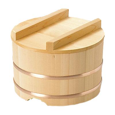 椹 のせびつ 直径33cm      日本製/木/木製/ご飯/おひつ/業務用