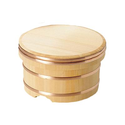 椹 江戸びつ 直径18cm      日本製/木/木製/ご飯/おひつ/業務用