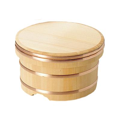 椹 江戸びつ 直径21cm      日本製/木/木製/ご飯/おひつ/業務用