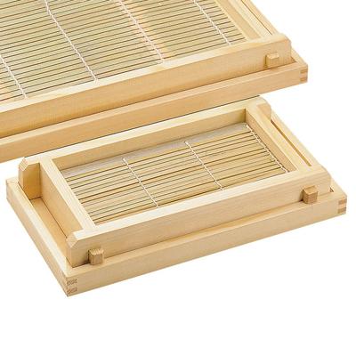 白木 ヘギセイロ 塗装付き 身・台・竹ス付 小       日本製 木 木製 そば お蕎麦 業務用