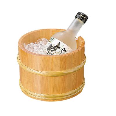 椹・桶型冷酒ワインクーラー   日本製/木/木製/ワイングッズ/冷酒クーラー/業務用/酒の器/酒器