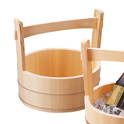 岡持型冷酒クーラー(ネジタカ)   日本製/木/木製/ワイングッズ/冷酒クーラー/業務用/酒の器/酒器