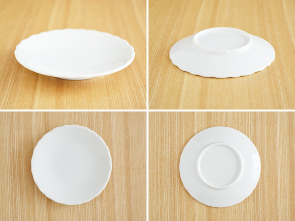 Flower shaped plate 10 cm (white) (including outlets) small plates and flower shaped plate / white / white Dinnerware / soy sauce dish and pickle dish & Table ware East | Rakuten Global Market: Flower shaped plate 10 cm ...