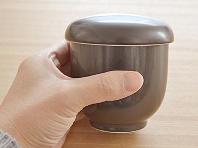 !茶碗蒸し 器(黒マット)EASTオリジナル 5個セット茶碗蒸し 器/シンプル茶碗蒸し/蒸し碗/ちゃわんむし/ナチュラル茶碗蒸し/食器セット/美濃焼/和食器/蓋物