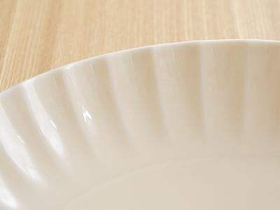 新生活食器ペアプレート 2枚 ギフトセット  frill(フリル) プレート/お皿/パスタ皿/ペア食器/食器セット/ギフト/プレゼント/贈り物/新生活/内祝/結婚祝い/引っ越し祝い