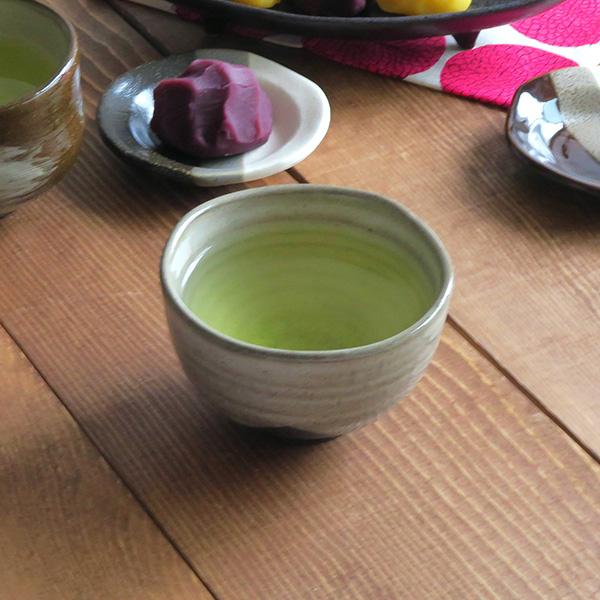 煎茶碗 刷毛目