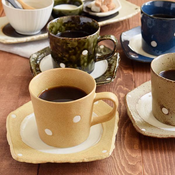和カフェ カップ&ソーサー 水玉 minoruba(ミノルバ)