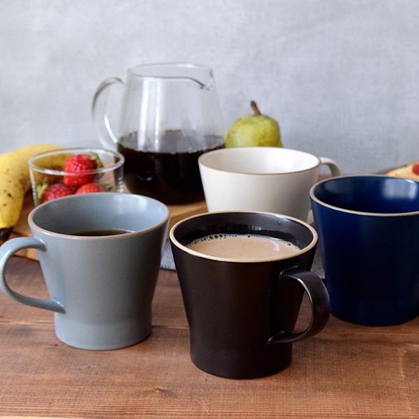シンプルすぎない デザイン うつわ カフェ食器 おしゃれ マグカップ 380cc エッジライン Edge line 洋食器 コップ 国内在庫 カップ ティーマグ カフェ風 マグ シンプル 食器 受注生産品 モダン plate コーヒーマグ