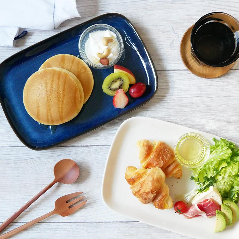 おうちカフェが楽しめる角皿