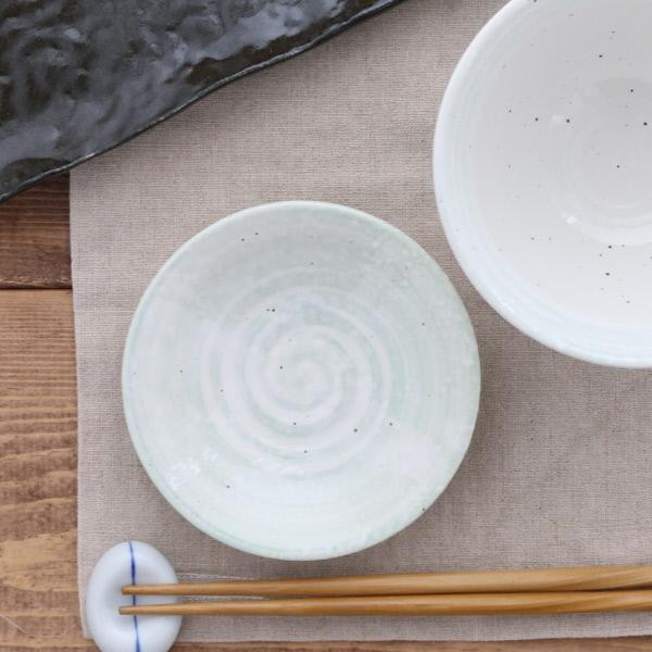 小皿 12cm 白雪刷毛目 和食器