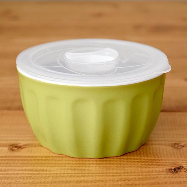 SALE!レンジパック小鉢 密閉フタ付き グリーン