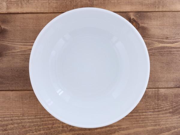 どんぶり モダンホワイト  20cm (アウトレット) 丼ぶり/丼/白い食器/麺鉢/大鉢/ボウル/うどん鉢/蕎麦鉢/ラーメン丼ぶり/煮物鉢/おしゃれ 食器/カフェ風/シンプル/カフェ食器