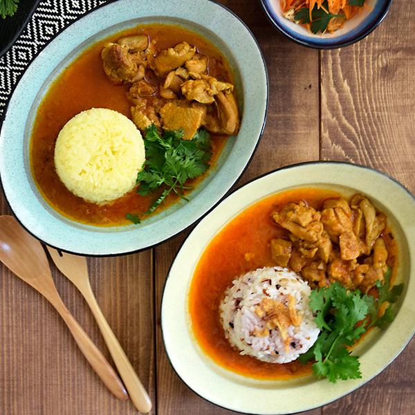 土物のカレー皿 リムオーバル 黒土和食器 24cm