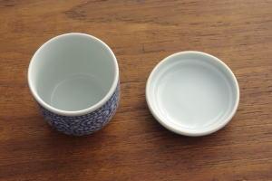 !茶碗蒸し たこ唐草 5個セット 茶碗蒸し 器/茶碗むし/ちゃわんむし/スープカップ/蒸し碗/和の器/食器セット/和食器/染付/おしゃれ/カフェ風