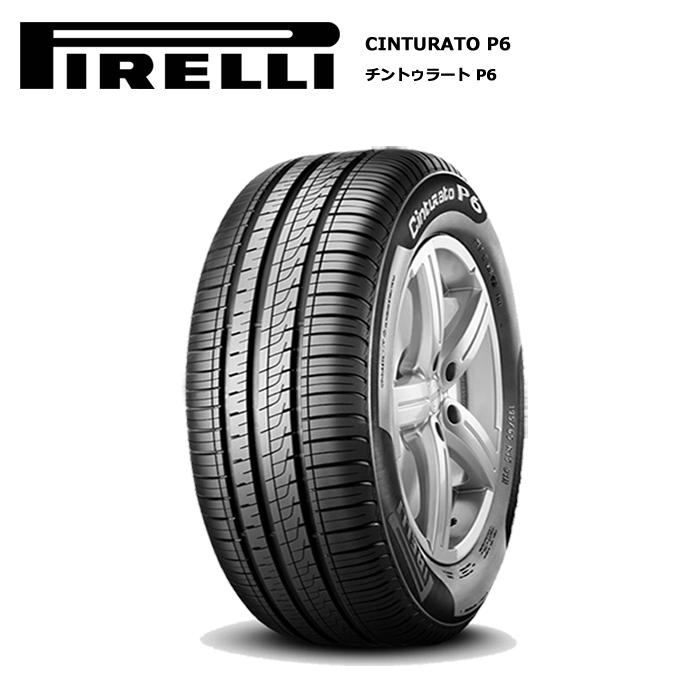 サマータイヤ 4本セット ピレリ 185/60R15 84H CINTURATO P6
