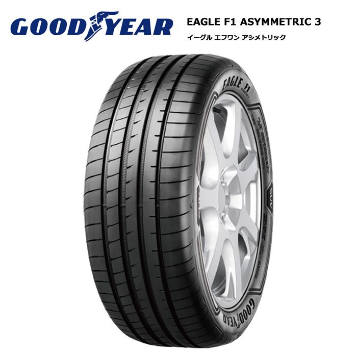 サマータイヤ 4本セット グッドイヤー 215/40R17 87Y XL イーグル F1 アシメトリックスリー