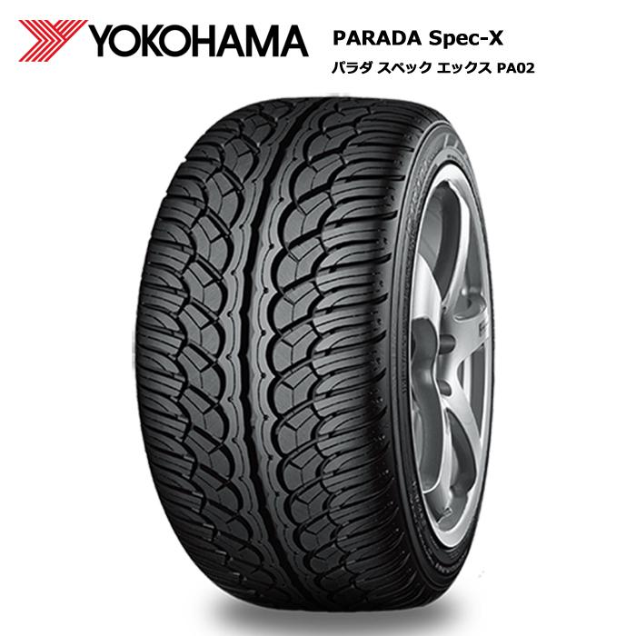 送料無料 新品サマータイヤ 4本セット サマータイヤ ヨコハマ 255 大決算セール 特価品コーナー☆ 30R24 Spec-X パラダ ホビー PA02 97V XL