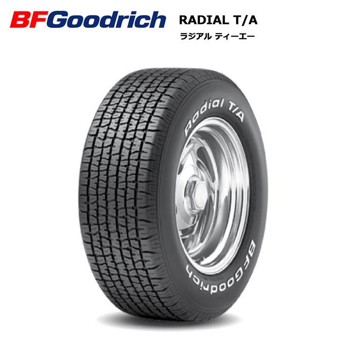 サマータイヤ 4本セット BFグッドリッチ P295/50R15 105S RWL Radial T/A ホワイトレター