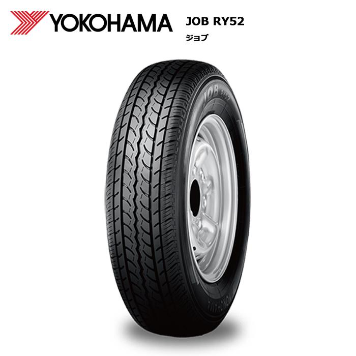 サマータイヤ 4本セット ヨコハマ 195/80R15 107/105L JOB RY52