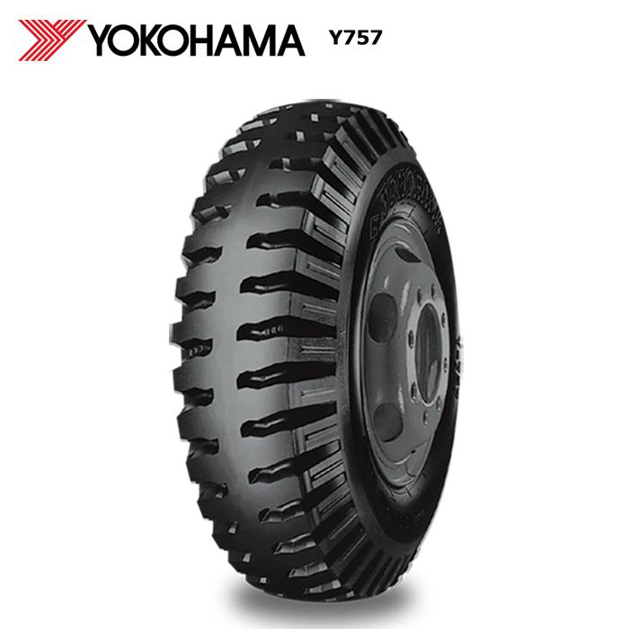 サマータイヤ ヨコハマ 600-14 8PR T/L Y757