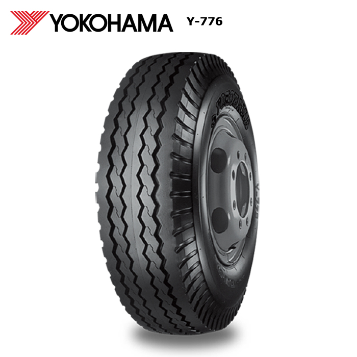 【5%オフ 30日02:00まで】サマータイヤ ヨコハマ 750-16 14PR チューブタイプ Y776