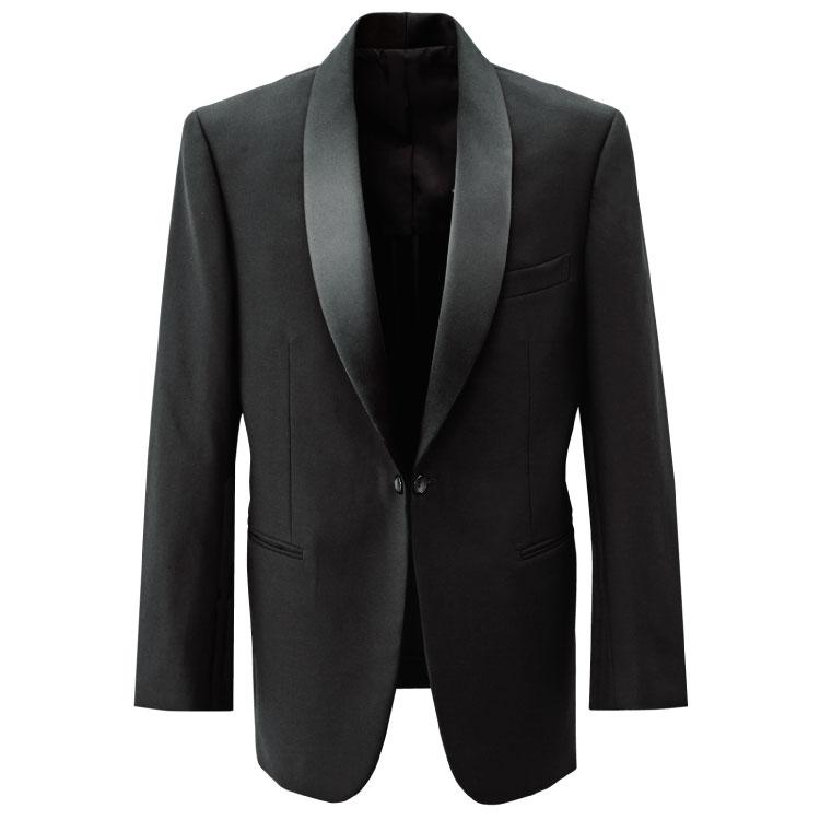 拝絹タキシード(男性用) BONUNI 毛100% 黒 ボンユニ 11124 ボストン商会 Y4~B7