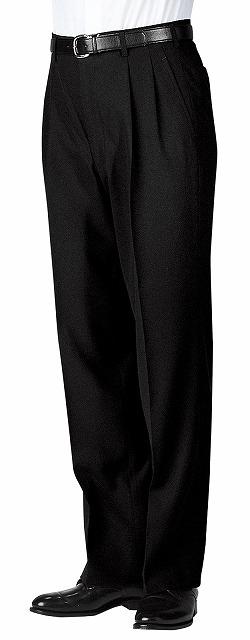 ツータックスラックス(メンズ) 【ボストン商会 ボンユニ BON UNI】 ホテル制服 ブライダル フォーマル 男性用スラックス 01160-02