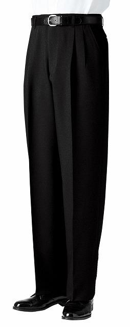 ツータックスラックス(メンズ) 【ボストン商会 ボンユニ BON UNI】 ホテル制服 ブライダル フォーマル 男性用スラックス(アジャスター付) 01195-05