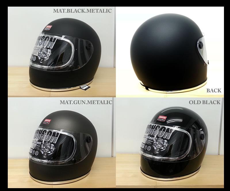 JHONSON Street helmet ストリートヘルメット OLD RACER