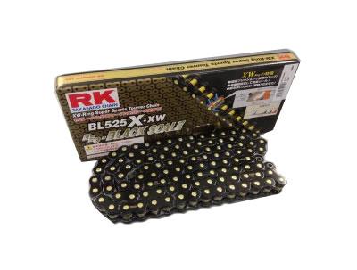 【XWリング】RK ドライブチェーン BL525X-XW 120L ブラック