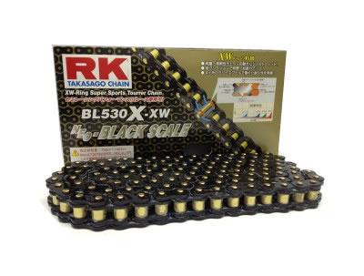 【XWリング】RK ドライブチェーン BL530X-XW 120L ブラック