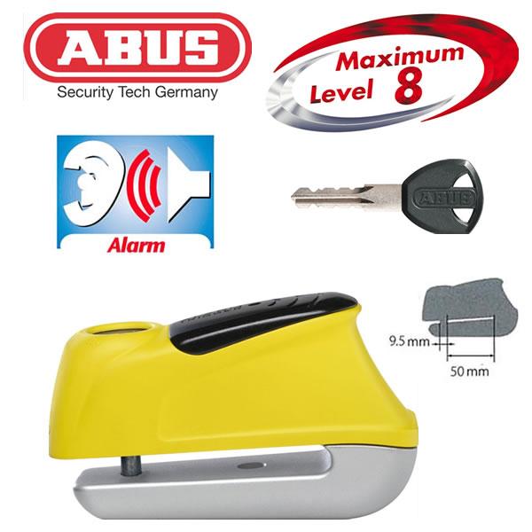 ABUS(アブス) Trigger Alarm 350 イエロー(4003318559730) 9.5mm