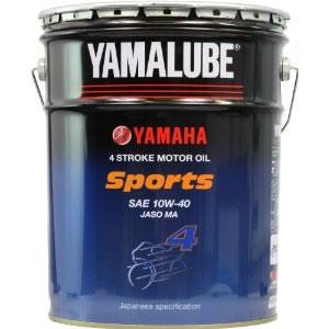 【同梱不可】 【ヤマハ純正】4ストロークオイル ヤマルーブスポーツ 20Lペール缶  (9079332639)