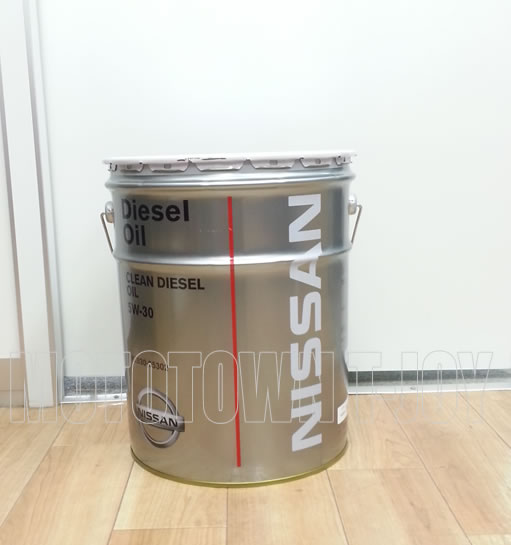 【送料無料!同梱不可】 ニッサン純正オイル クリーンディーゼルオイル 5W-30 20L (KLB30-05302)