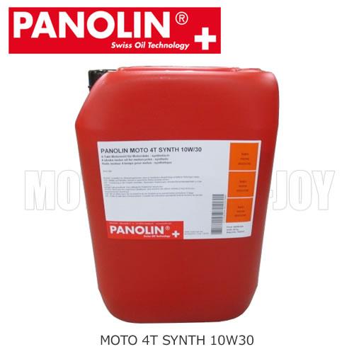 【同梱不可】【送料無料】 PANOLIN(パノリン)4サイクルオイル MOTO 4T SYNTH 10W30 【20Kg】ポリ容器 (330529)