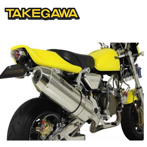 SP TAKEGAWA(タケガワ)モンキー ・ゴリラ用 コーンオーバルマフラー(JMCA認定マフラー) 04-02-0154