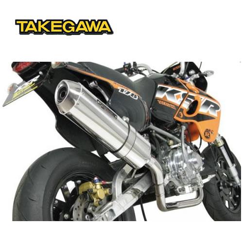 SP TAKEGAWA(タケガワ)KSR110 用 コーンオーバルマフラー(JMCA認定) 04-02-0160