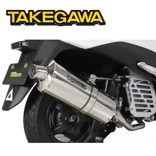 SP TAKEGAWA(タケガワ)LEAD125(リード125)用 パワーサイレントオーバルマフラー(政府認証) 04-02-0153